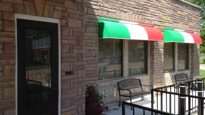 Rosato's Pizza is located at 201 E. Eaton St. in Trenton.