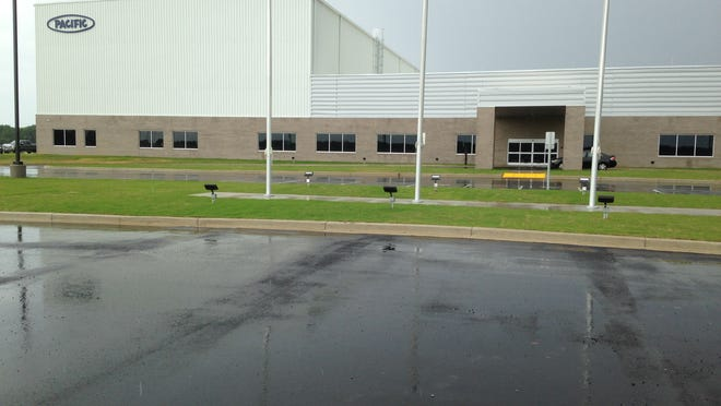 Construction is complete at Pacific Manufacturing Tennessee Inc. at Airport Industrial Park.