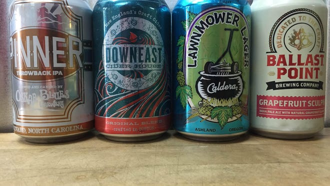 Here are some of the best craft beer can options for the summer.