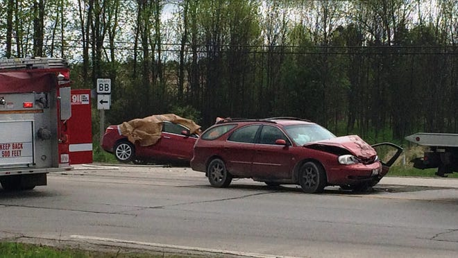A detour was set up in the aftermath of the fatal crash this morning, blocking off roads along WI 42/57 from Egg Harbor Road north to Forest Road.
