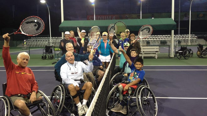 The Incight Wheelchair Tennis Clinic recently took place at the Indian Wells Tennis Gardens in Indian Wells.