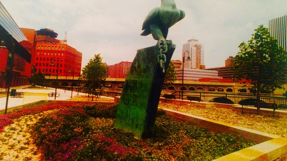 War Eagle, downtown Rochester