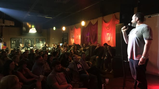 There an extended weekend of comedy beginning tonight with a new weekly show at Jefferson Street Pub.