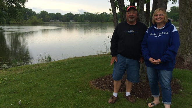 Gary and Cheryl Nault hope to host Kids' Fishing Day on Little Lake for many more Father's Days to come.