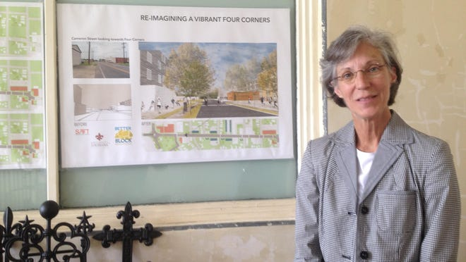 Stephanie Cornay Dugan, who grew up in the Four Corners area, is working with others to revitalize the neighborhood.