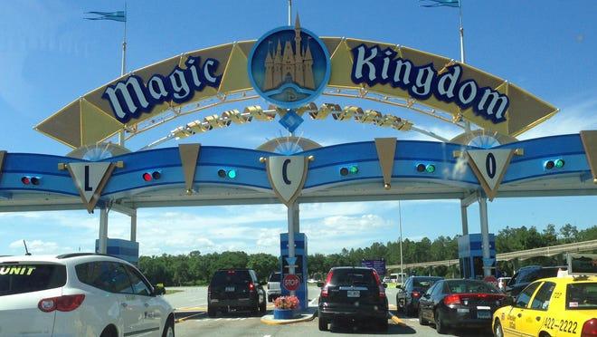 FILE- Walt Disney World's Magic Kingdom