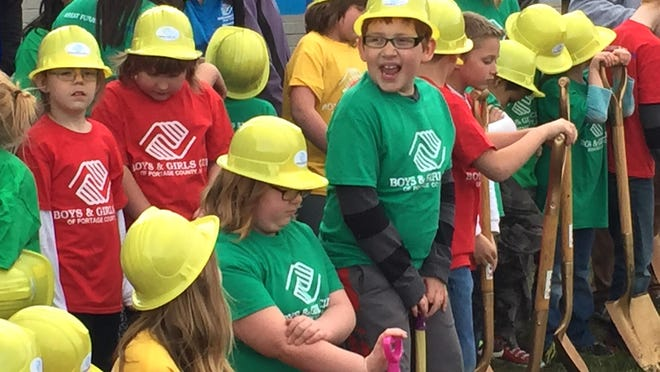 The Boys and Girls Club of Portage County broke ground on its new facility earlier this year.