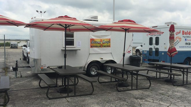Momma Mary's Navajo Tacos reopened June 29 as a truck based at SGF Mobile Food Park, 836 N. Glenstone Ave. From October 2010, it had operated in a strip mall at 520 N. West Bypass. Owners said most of their customers live in east and south Springfield, so they're following their patrons.