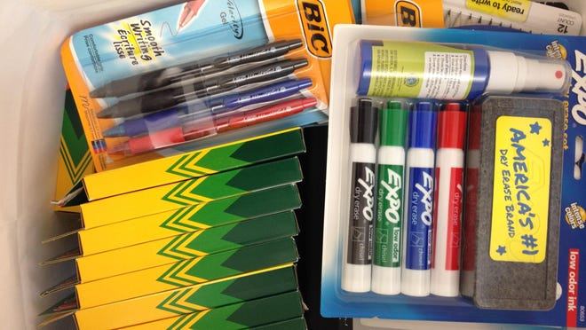 The Daily Advertiser is hosting its second Adopt-A-Teacher supply drive this summer.