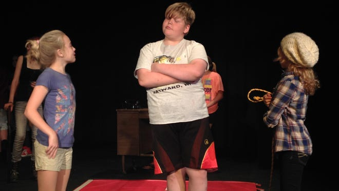Joseph Jansen in character as Dr. Watson at rehearsal on Tuesday, July 14.