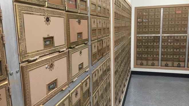 Boxes at the US Post Office on Portola Avenue in Palm Desert. A Desert Sun reader urges the Postal Service to clean up shabby looking grounds at some Coachella Valley facilities.