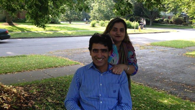 Husna and Kiramat Syed of Brighton.