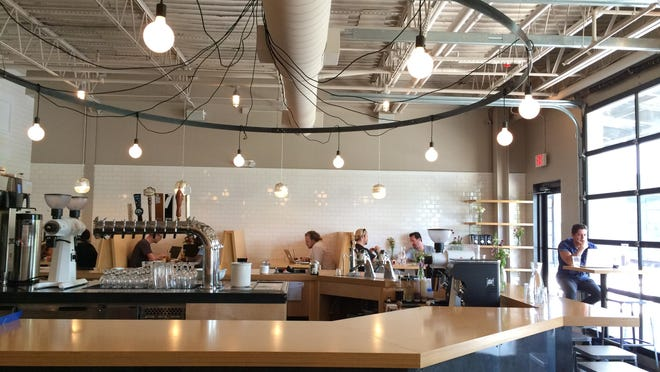 The new Steadfast Coffee house in Germantown is clean and sparse with a light, well-selected menu.