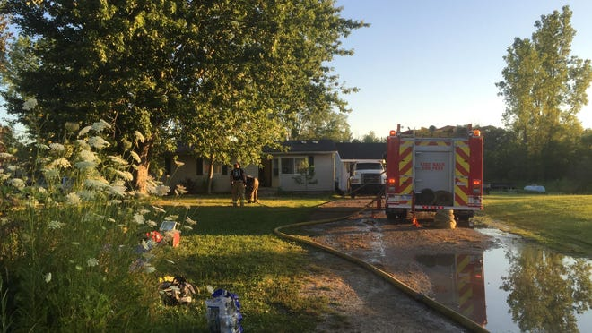 One person is dead after a Kimball Township fire that damaged three homes.