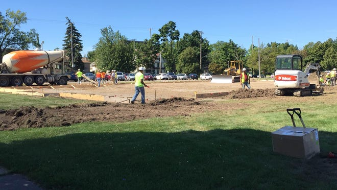 Beacon field will be ready for play on Labor Day. The mini soccer field is meant for quick pick-up games.