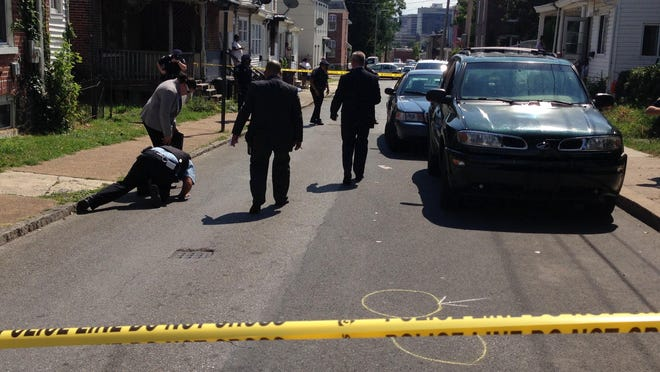 Wilmington police are responding to a man found shot in the arm on East 24th Street Friday afternoon.