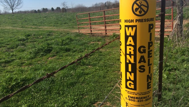 A plan to convert the Tennessee Gas pipeline owned by Kinder Morgan to natural gas liquids could be impacted by the Kentucky Supreme Court ruling if the company needs additional easements.