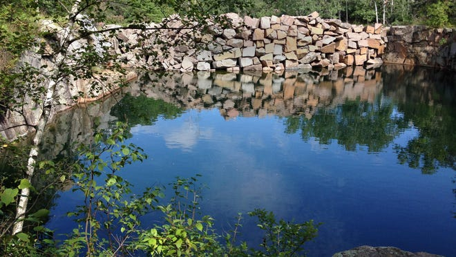 Stearns County's Quarry Park & Nature Preserve contains a great variety of ecosystems and geological features as well as trails for hiking and quarries for swimming.