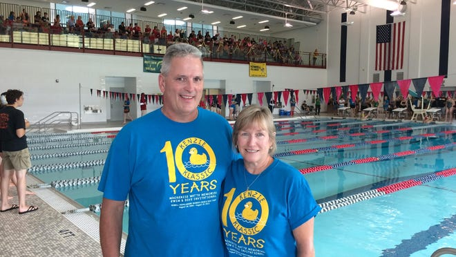 George and Laurie Watts organized the Kenzie Klassic to honor their daughter, a Howell swimmer who died at age 15.