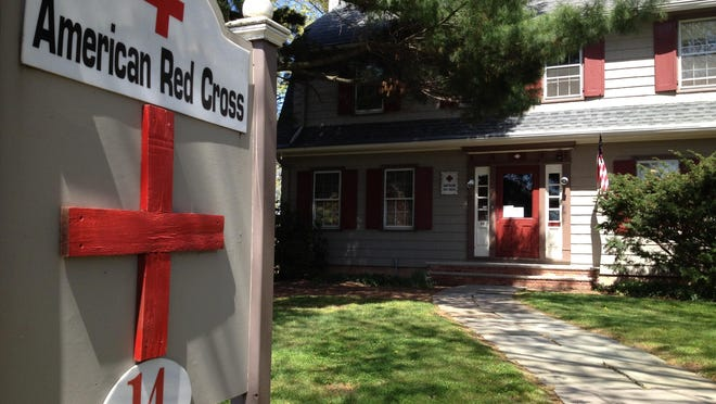 The American Red Cross office in Somerville. The office served the former Greater Somerset County Chapter of the nonprofit relief organization.