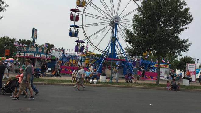 The Kidway has rides sized for youngsters.