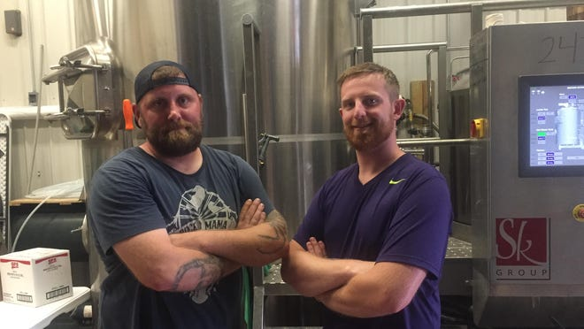 Catawba Island Brewing Company head brewer Matt Ritter and founder/president Mike Roder have been brewing up local ales together for more than two years.