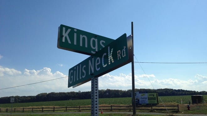 Developers will seek the rezoning of land at the corner of Gills Neck Road and Kings Highway.