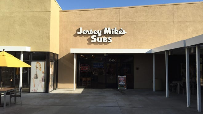 The first Jersey Mike's in Palm Springs is located at 2465 East Palm Canyon Drive, Suite 1010.