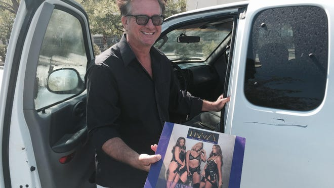 Ronnie King pulls an album he recorded with Eazy E of NWA famed, by the girl group HWA.