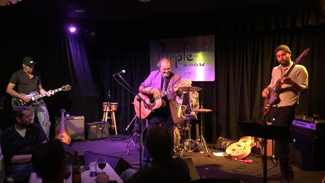 The Terry Reid band, featuring Jimmy Heil on guitar and Nigel Dettelbach on bass, will return to the Purple Room on Oct. 9.