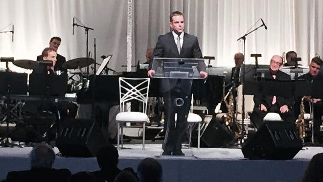 Matt Damon called Jerry Weintraub the best story teller he ever heard Sunday.