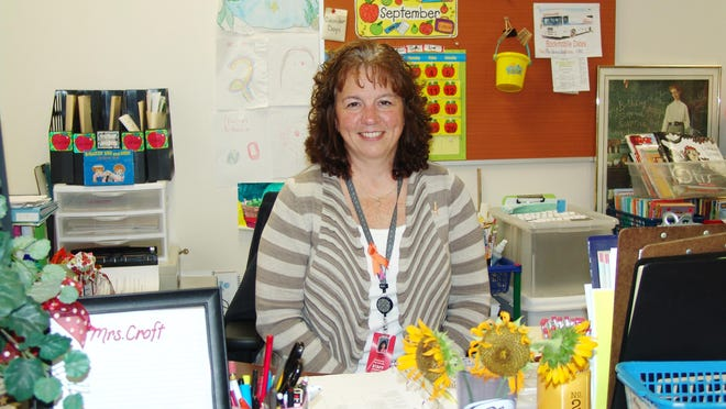 Leslie Croft's spirit as a teacher is evident in her brightly decorated classroom. It's a job she continued to do throughout her treatment for breast cancer because she said it gave her a sense of normalcy. In 2013, she was diagnosed with stage 3 breast cancer that had started to spread to her lymph nodes.