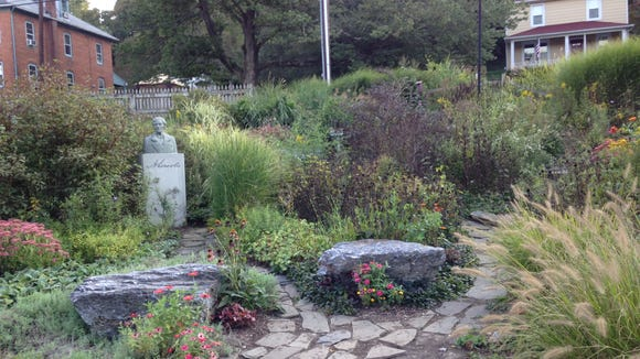 This garden is there for Hanover Junction visitors