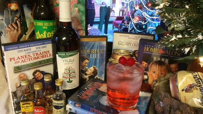 Done responsibly, a drink or two can add extra cheer to holiday movie favorites.