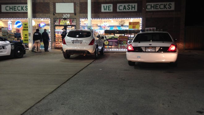 Jackson police responded to an armed robbery at the Easy Mart gas station, at 309 N. Highland Ave., about 8:30 p.m. Tuesday.