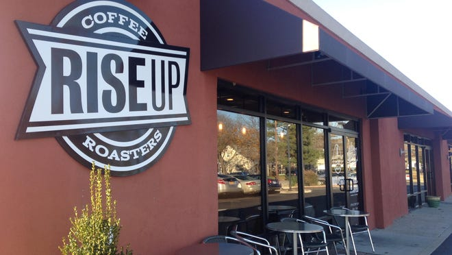 Rise Up Coffee has two locations in Salisbury, the East College Avenue location shown above and its drive-thru location on Riverside Drive.