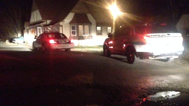 The Madison County Sheriff's Office is investigating a stabbing that wounded two people in the 1300 block of Westover Road on Tuesday night.
