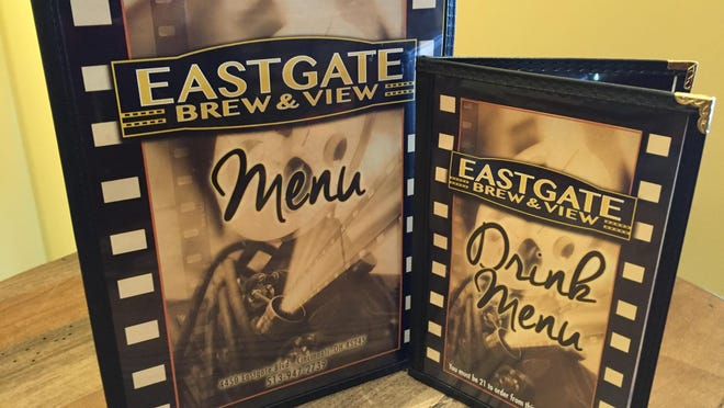 The Eastgate Brew & View featured a full menu of traditional American cuisine and some specialties along with a drink menu of more than 30 different kinds of beer.