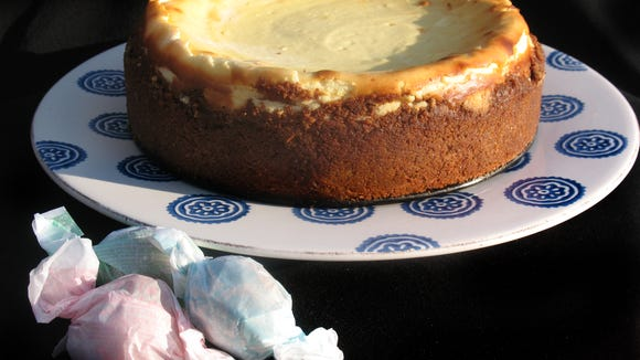 Amaretto Cheesecake makes a decadent dessert for the holidays.