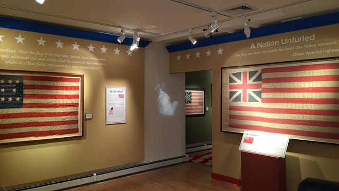 """""""Seeing Stars"""" exhibit at Twin Lights Museum."""