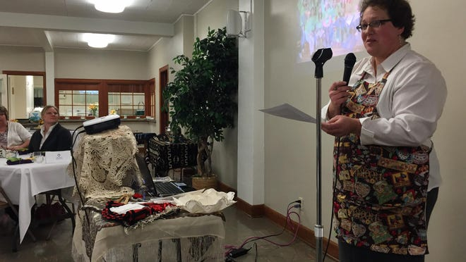 Heather McCartney Duty said she was inspired by observances of International Women's Day she experienced in Russia and Mali to host a commemorative tea in Choteau to make the occasion. The ladies' tea was a fundraiser for a new Montessori preschool, with a fall opening planned.