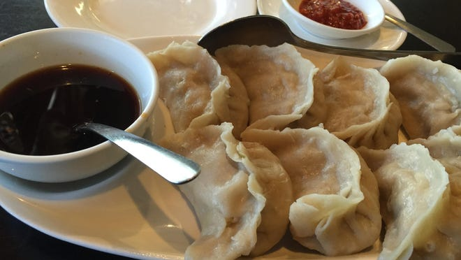 Many say the pot stickers at Dynasty China Bistro are the best in town. They're homemade and served steamed like these or pan fried.