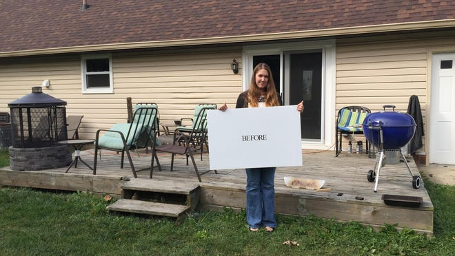 Courtney Jennings won the Party on the Patio contest, sponsored by Simonton Windows & Doors and This Old House.
