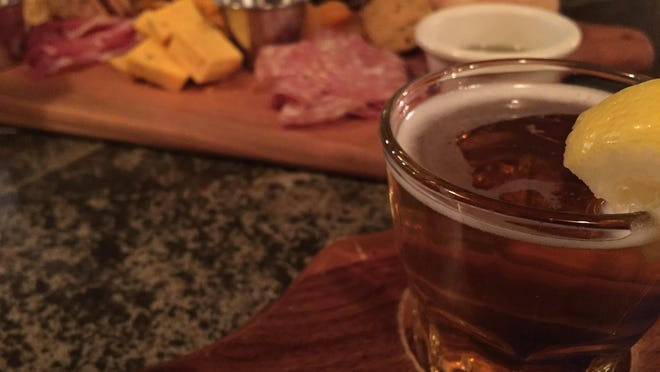 Enjoy a beer and the longhorn cheese platter at Wibaux's Beaver Creek Brewing Co.