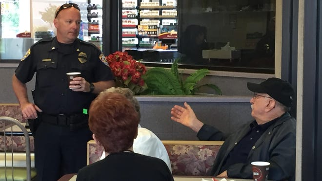 Coffee with a Cop will take place from 3 p.m. to 5 p.m. at Visalia's Burger King on Ben Maddox Ave.