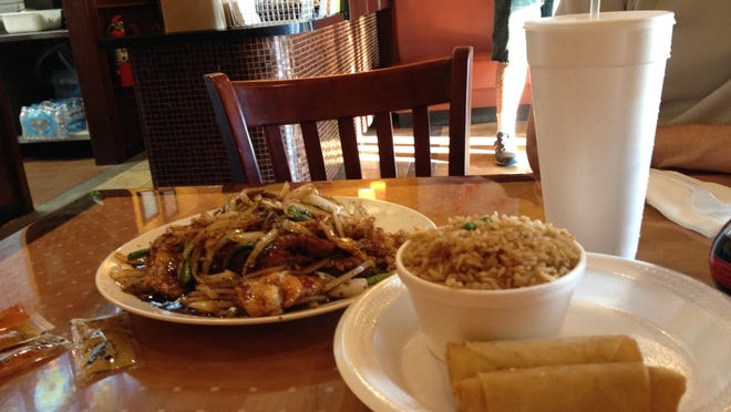 The prices at Asian Café are quite reasonable, especially considering the large portions served there.