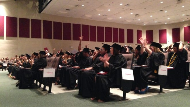 West Tennessee Business College held a graduation ceremony at Liberty Technology Magnet High School Friday night.