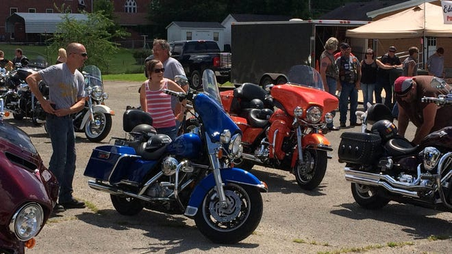 Bikers gathered Saturday in Dyer for the annual Toy Run to provide Christmas gifts for underprivileged children.