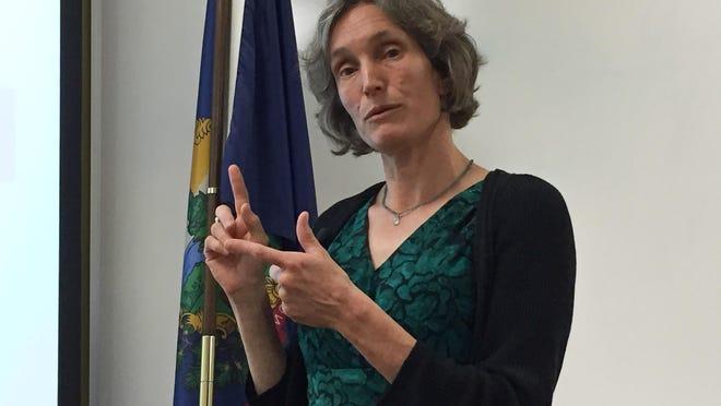 Vermont Education Secretary Rebecca Holcombe.