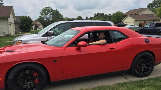 Radio host Jim O'Brien is driving a 707-hp Dodge Challenger Hellcat this week — and says it could ultimately be a costly experience.